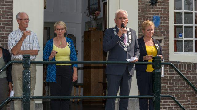 Opening met burgemeester Dirk van der Borg